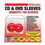 40 packs Humlin 100 Micron CD DVD sleeves